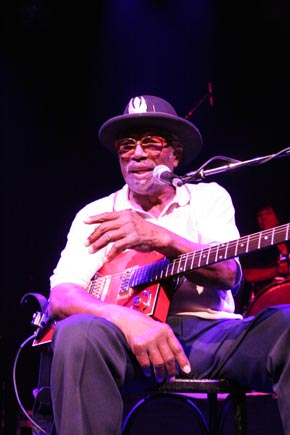 Bo Diddley & The Debby Hastings Band