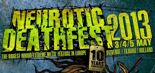 Neurotic Deathfest 2013: Death and Loving It